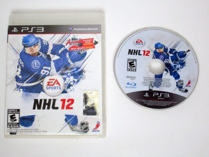 NHL 12 game for Sony Playstation 3 PS3 -Game & Case