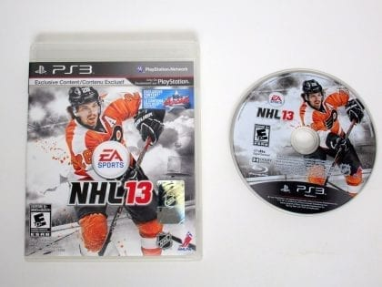 NHL 13 game for Sony Playstation 3 PS3 -Game & Case