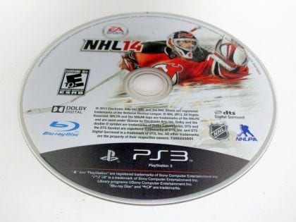 NHL 14 game for Sony Playstation 3 PS3 - Loose