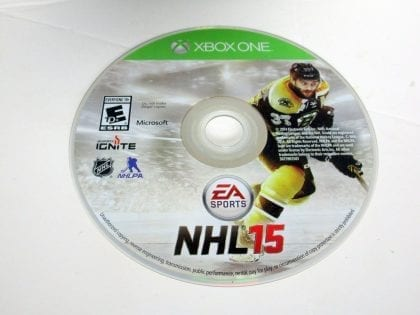 NHL 15 game for Microsoft Xbox One - Loose
