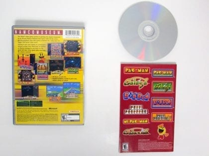 Namco Museum game for Xbox (Complete) | The Game Guy