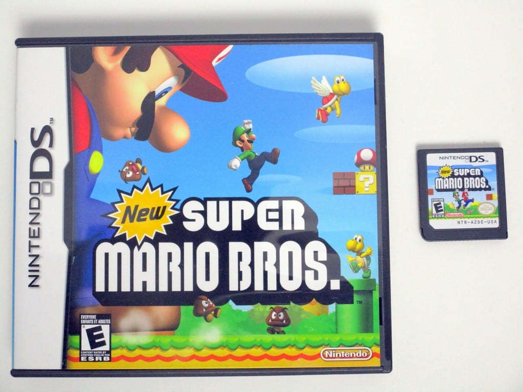 New Super Mario Bros game for Nintendo DS -Game & Case