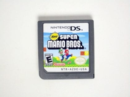 New Super Mario Bros game for Nintendo DS - Loose