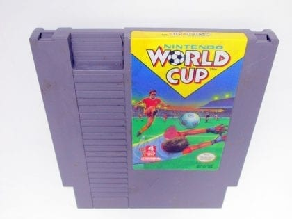 Nintendo World Cup game for Nintendo NES - Loose