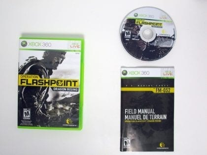 Operation Flashpoint: Dragon Rising game for Microsoft Xbox 360 -Complete