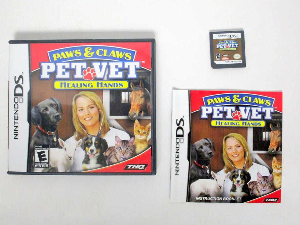 paws and claws pet vet ds game