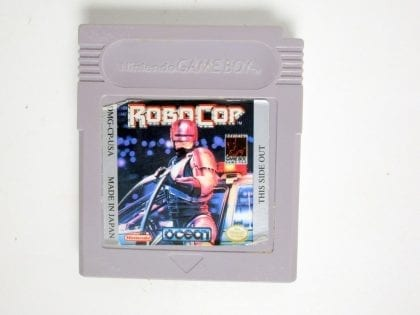 RoboCop game for Nintendo GameBoy - Loose