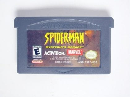 Spiderman Mysterio's Menace game for Nintendo Gameboy Advance - Loose