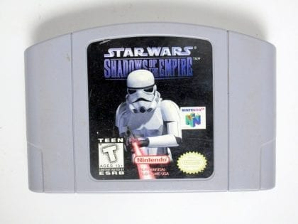 Star Wars Shadow of Empire game for Nintendo 64 N64 - Loose
