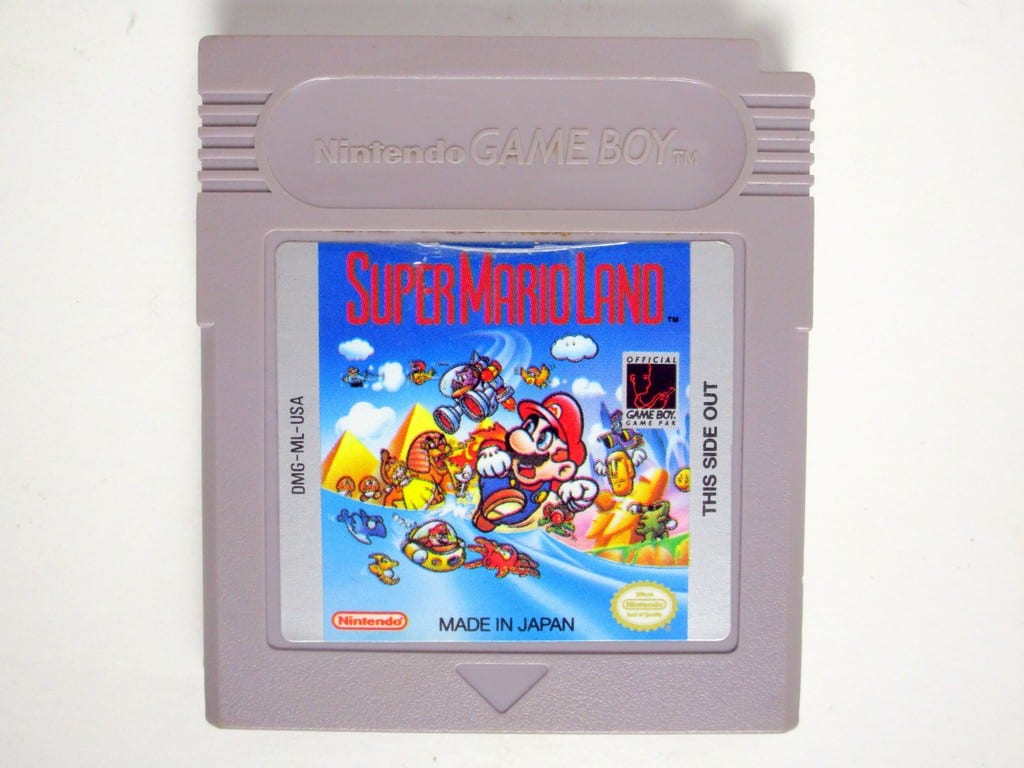 Super Mario Land game for Nintendo GameBoy - Loose
