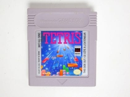 Tetris game for Nintendo GameBoy - Loose