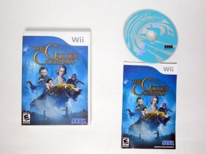 The Golden Compass game for Nintendo Wii -Complete