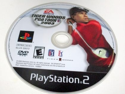 Tiger Woods 2003 game for Sony Playstation 2 PS2 - Loose