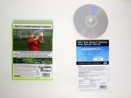 Tiger Woods 2006 game for Xbox 360 (Complete) | The Game Guy