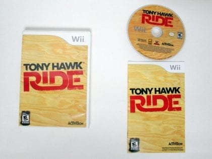 Tony Hawk: Ride game for Nintendo Wii -Complete