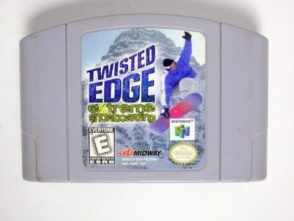 Twisted Edge game for Nintendo 64 N64 - Loose