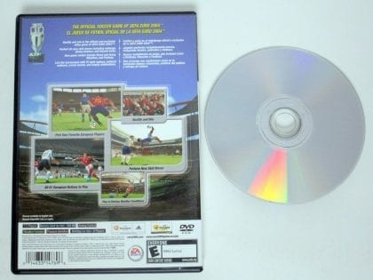 UEFA Euro 2004 game for Playstation 2 | The Game Guy