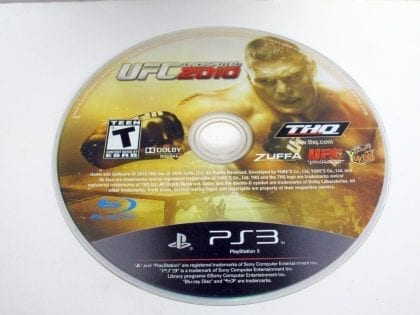 UFC Undisputed 2010 game for Sony Playstation 3 PS3 - Loose
