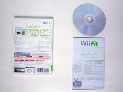Wii Fit (Game Only) game for Wii (Complete) | The Game Guy