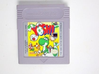 Yoshi game for Nintendo GameBoy - Loose
