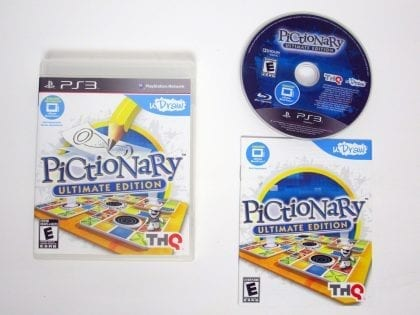 uDraw Pictionary: Ultimate Edition game for Sony Playstation 3 PS3 -Complete