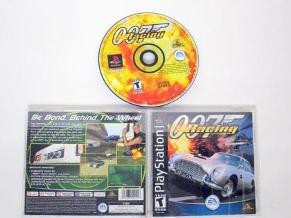 007 Racing game for Sony PlayStation 1 -Complete