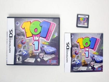 101-in-1 Explosive Megamix game for Nintendo DS -Complete