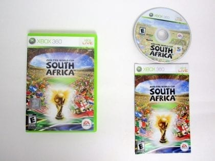 2010 FIFA World Cup game for Microsoft Xbox 360 -Complete