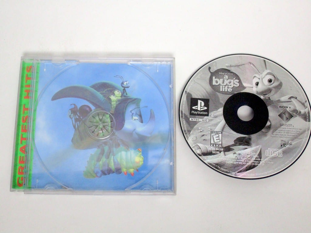 A Bug's Life game for Sony PlayStation 1 -Game & Case