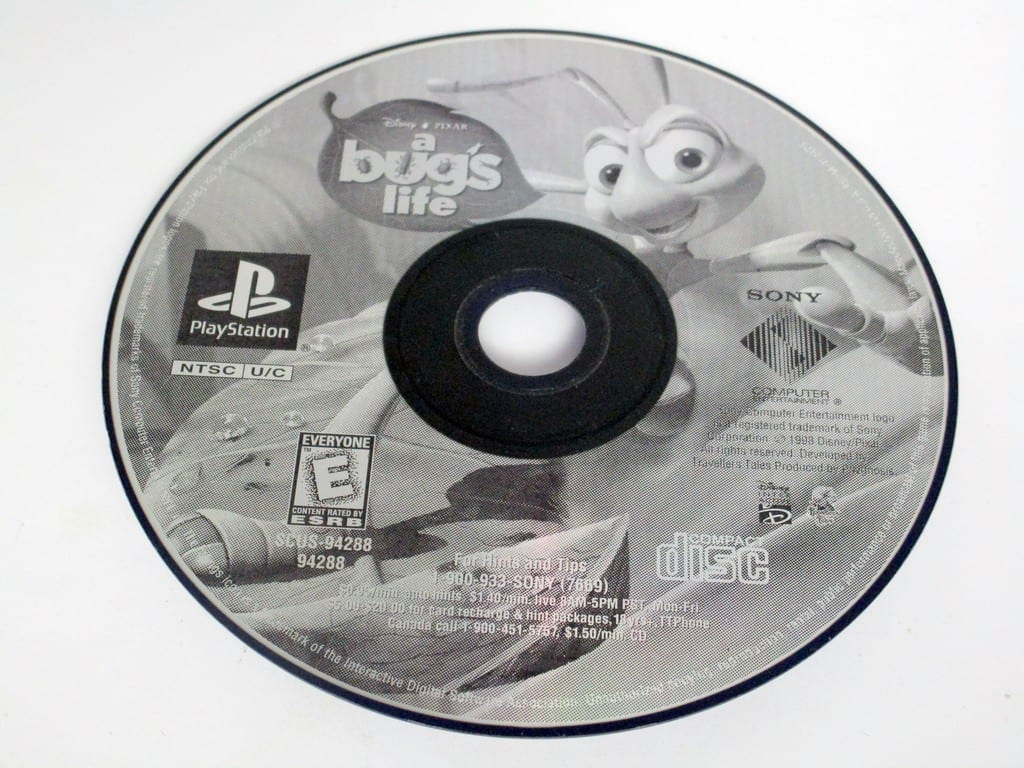 A Bug's Life game for Sony PlayStation 1 -Loose
