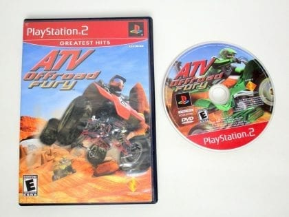 ATV Offroad Fury game for Sony PlayStation 2 -Game & Case