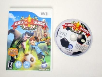 Academy of Champions Soccer game for Nintendo Wii -Game & Case