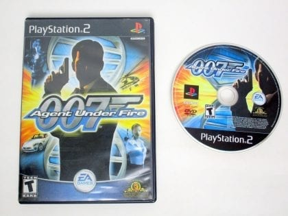 Agent Under Fire game for Sony PlayStation 2 -Game & Case