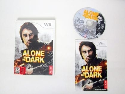 Alone in the Dark game for Nintendo Wii -Complete