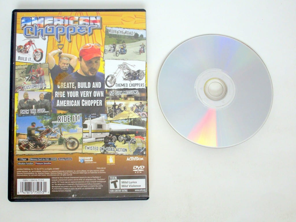 American Chopper game for Sony PlayStation 2 | The Game Guy
