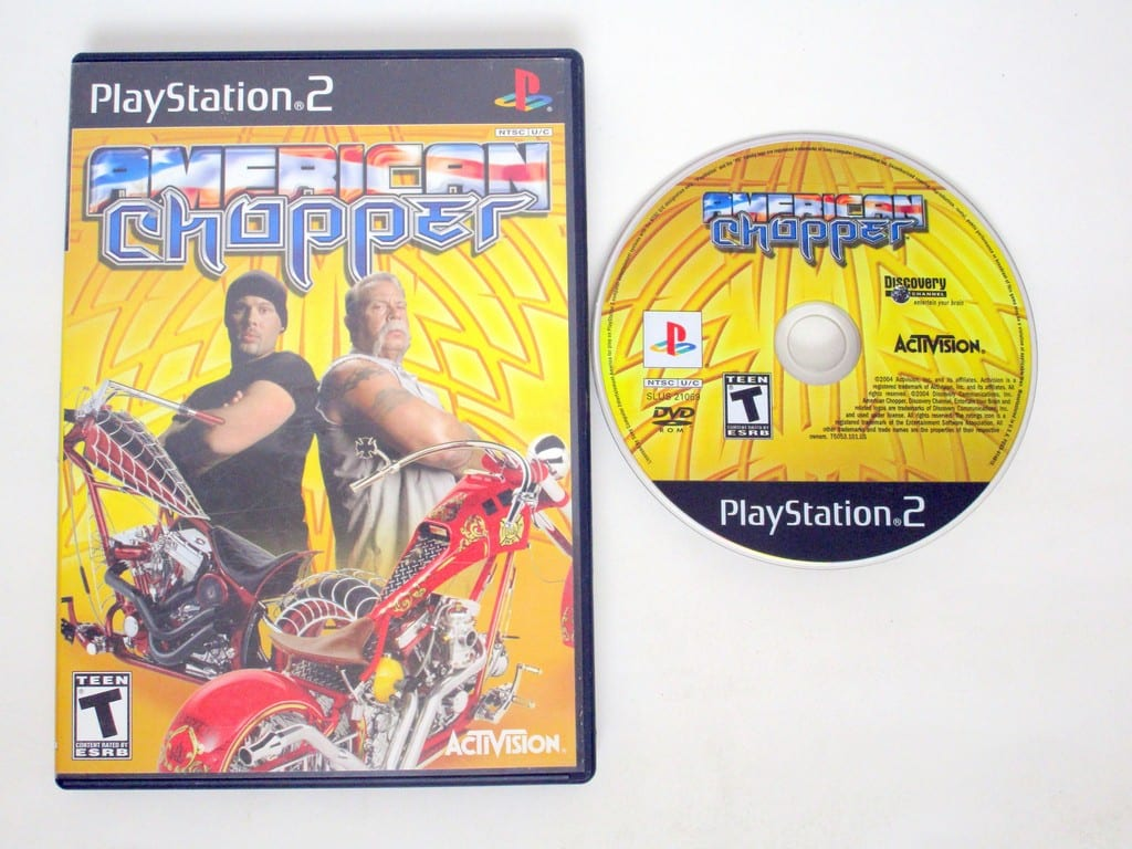 American Chopper game for Sony PlayStation 2 -Game & Case