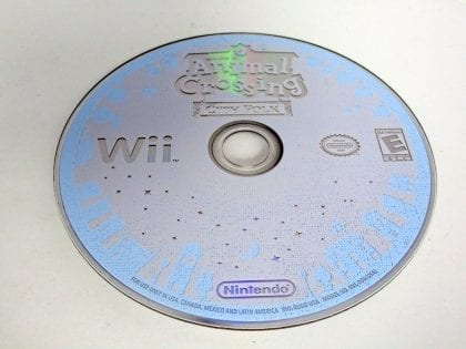 Animal Crossing City Folk game for Nintendo Wii -Loose