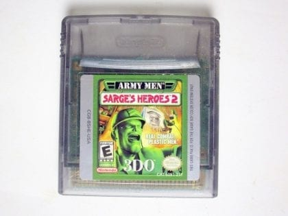 Army Men Sarge's Heroes 2 game for Nintendo Game Boy Color -Loose