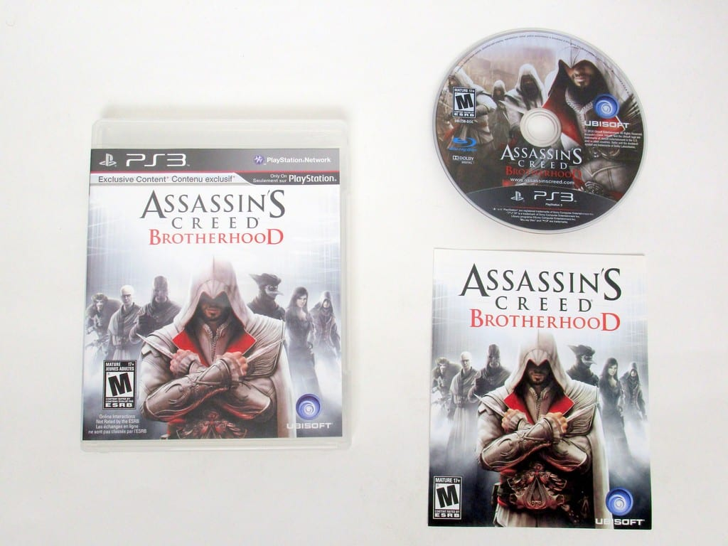 Assassin's Creed: Brotherhood game for Sony PlayStation 3 -Complete