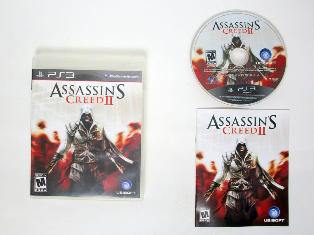 Assassin's Creed II game for Sony PlayStation 3 -Complete