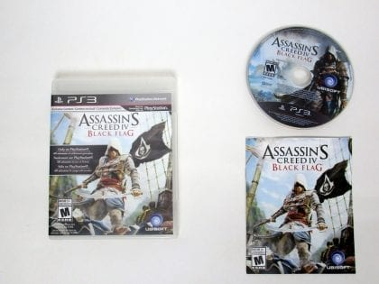 Assassin's Creed IV: Black Flag game for Sony PlayStation 3 -Complete
