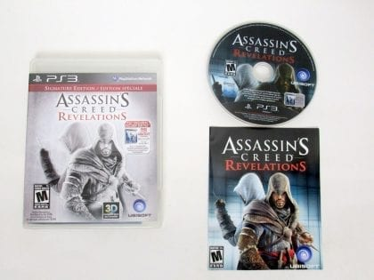 Assassin's Creed Revelations: Signature Edition game for Sony PlayStation 3 -Complete