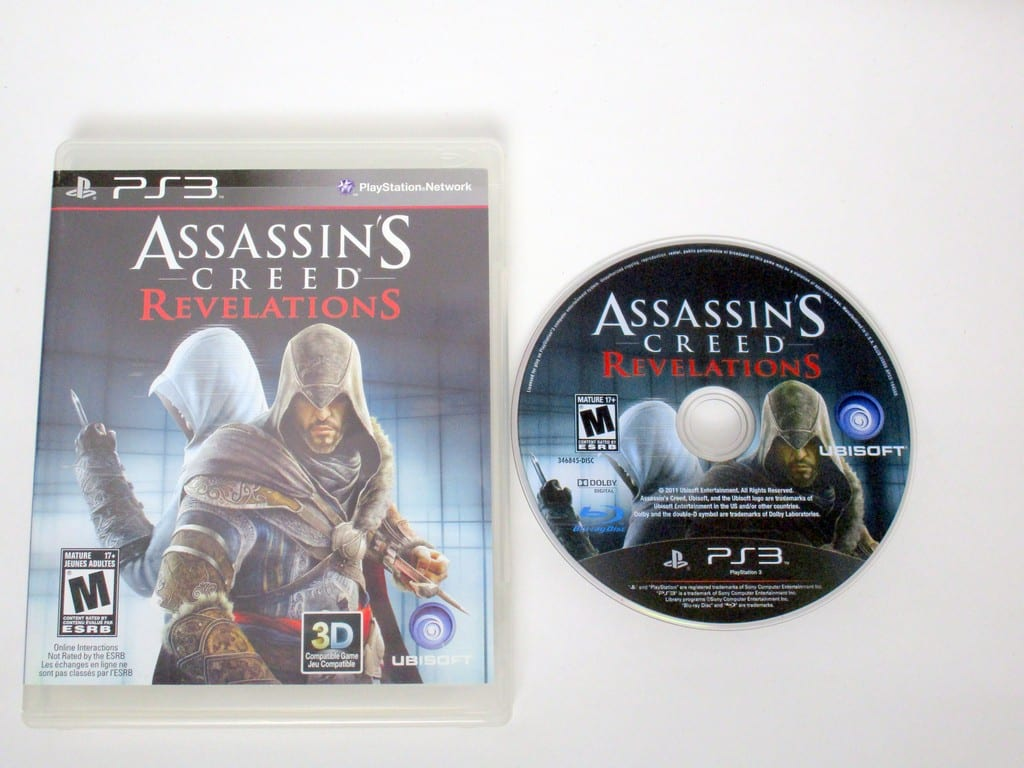 Assassins Creed Revelations game for Sony PlayStation 3 -Game & Case