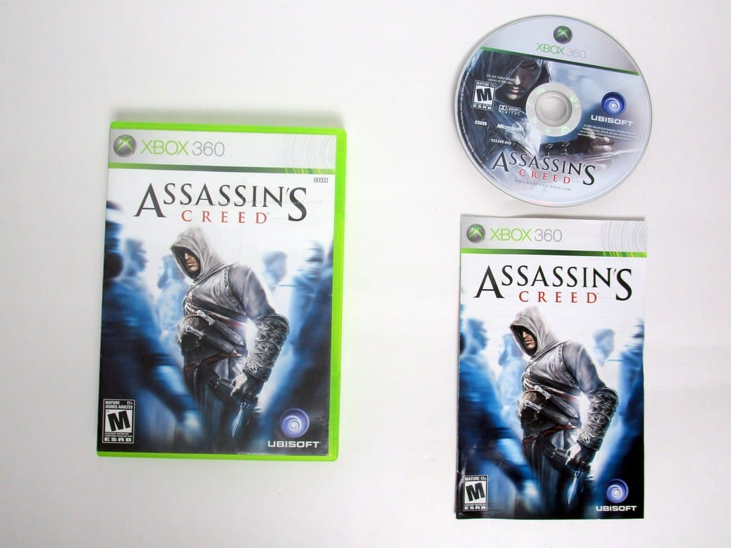 Assassin's Creed game for Microsoft Xbox 360 -Complete