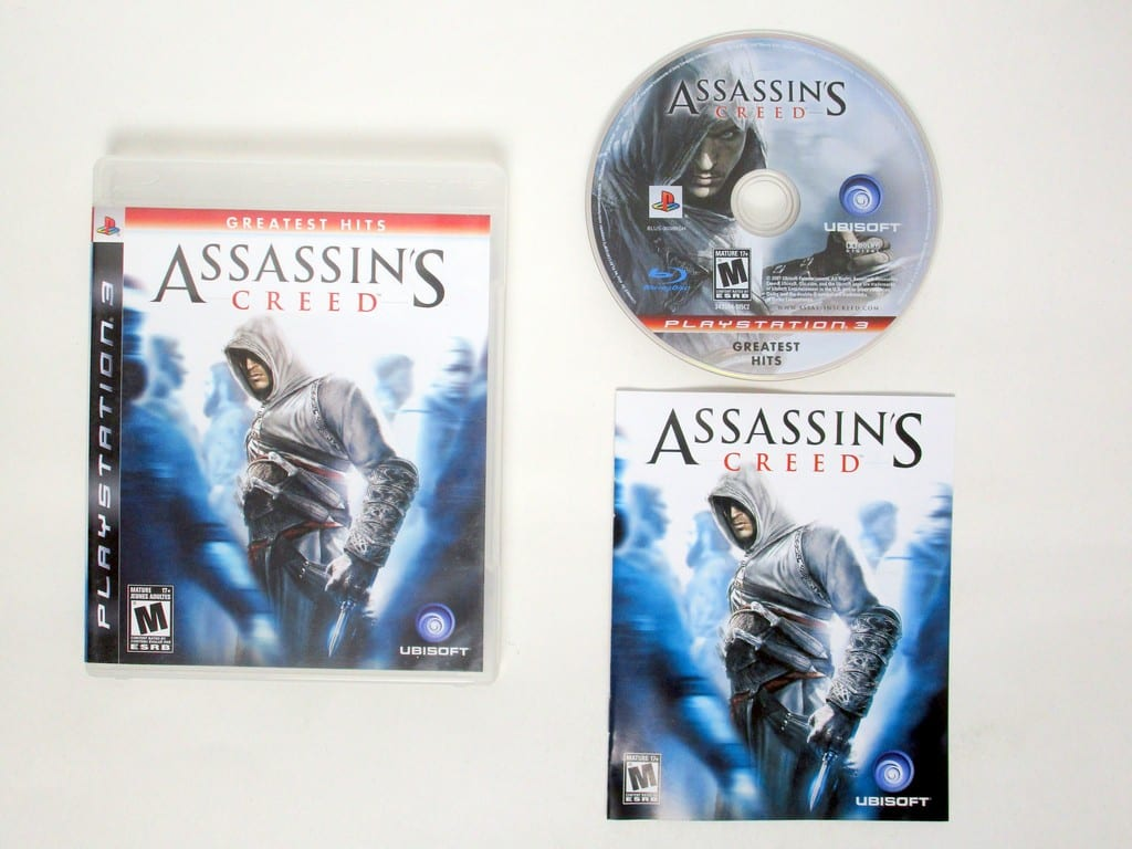 Assassin's Creed game for Sony PlayStation 3 -Complete