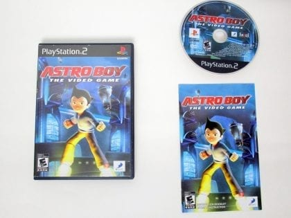 Astro Boy: The Video Game game for Sony PlayStation 2 -Complete