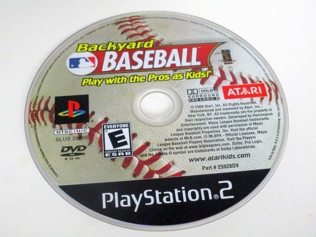 Backyard Baseball game for Sony PlayStation 2 -Loose