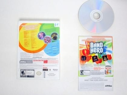 Band Hero game for Nintendo Wii | The Game Guy