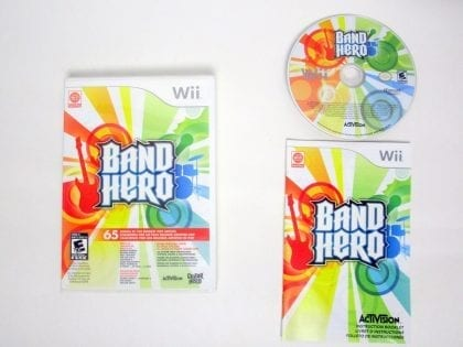 Band Hero game for Nintendo Wii -Complete