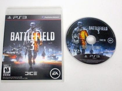 Battlefield 3 game for Sony PlayStation 3 -Game & Case